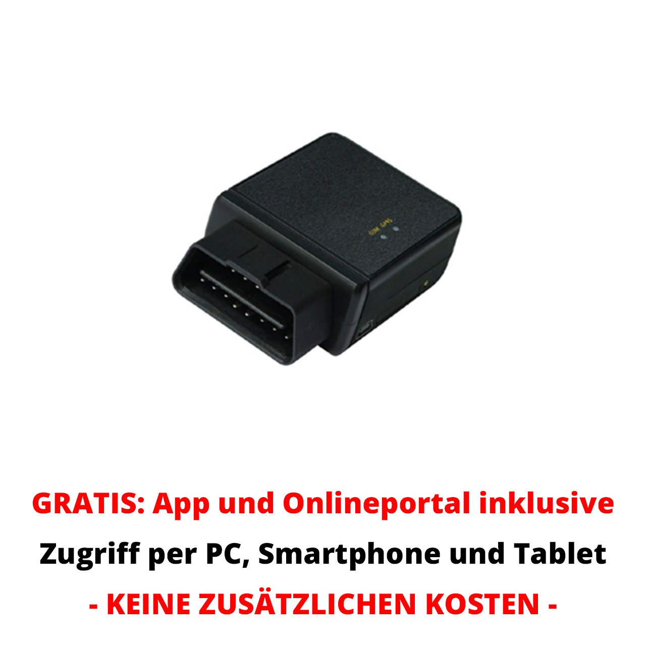 gps tracker peilsender mit obd2 schnittstelle f r. Black Bedroom Furniture Sets. Home Design Ideas